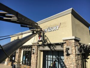 Install in Stucco