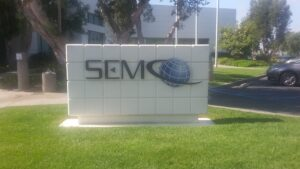 Company Monument Sign