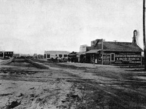 Old Downtown Stanton 1913