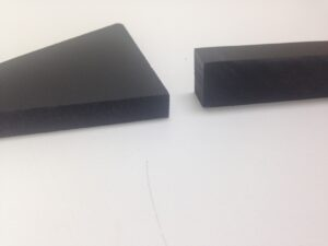 PVC in Black and different thicknesses