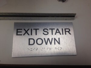 Exit Stair Down