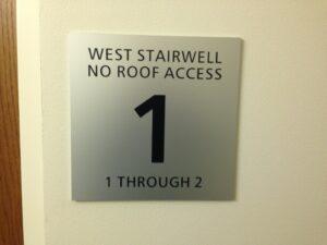 Stairwell level